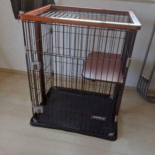 猫ケージ&トイレ