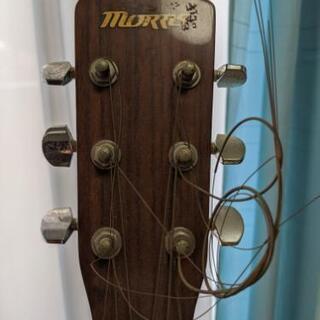 【受付終了】モーリス アコースティックギター !!左利き用!! - 楽器