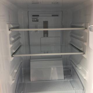 【美品】2017年製 シャープ2ドア冷蔵庫 SJ-D14C…