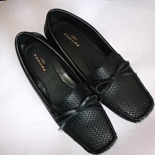 靴 LLサイズ レディース 黒 あげます。