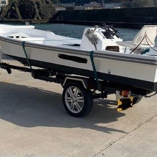 車検付き軽ボートトレーラー今週のみ値下げ − 福井県