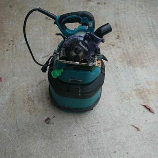 マキタ防塵丸鋸、集塵機