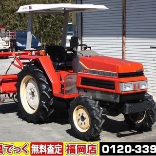 ヤンマ トラクター FF245 24馬力 パワステ 4WD バイ...
