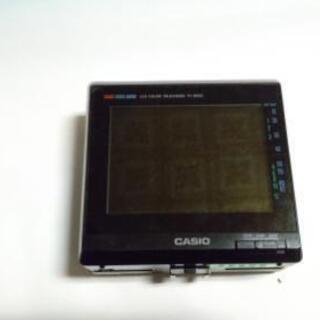 値下げ中古CASIO  LCD COLOR  TELEVISIO...