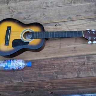 中古の小さなギターあげます無料