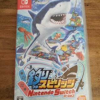 Nintendo Switchソフト★釣りスピリッツ
