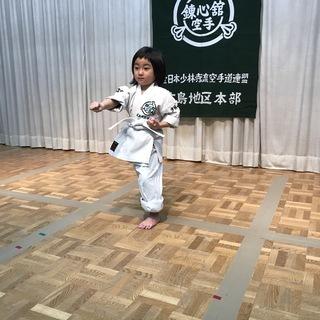 全日本少林寺流空手道連盟 錬心舘竹原支部は随時、会員募集中です。