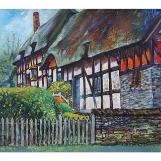 イギリス「アン・ハサウェイの家」真作