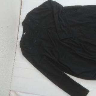 Aラインコクーンワンピース   黒色Mサイズ