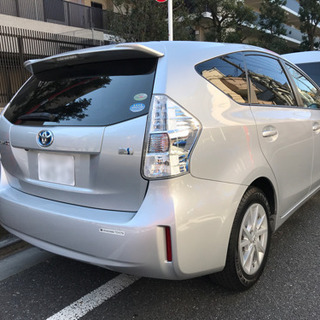 人気の低燃費車プリウスα