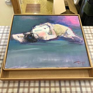 油絵 絵画🌟横たわる裸婦 女性🌟お部屋のインテリアにいかが…