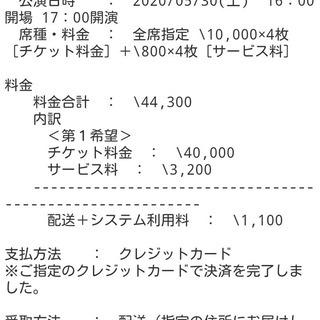 2020LUNA SEAライブチケット東京ガーデンシアター5月2...