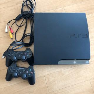 PS3 本体+コントローラー2つ