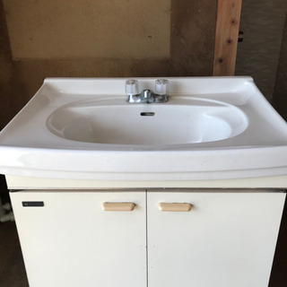 【無料引取希望】洗面台(75cm)の画像