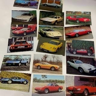 【当時物】スーパーカー・カード(大当たりラッキーカード6枚と当た...