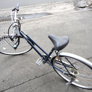 Amitie/アミティ 27インチ 自転車 6段変速付き シティ...