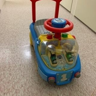 《終了》【おまけ ゴードン付き】トーマス 乗り物 手押し車の画像