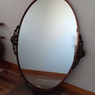 大判の鏡 中古