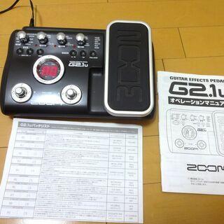 ACアダプター付き ZOOM マルチエフェクター G2.1u  ...