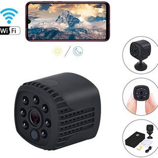 超小型 カメラ WiFi  ミニ カメラ 動体検知ペット カメラ