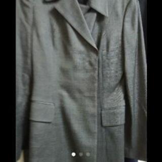 2つSET 美品 リクルート スーツ グレー USED ブラック
