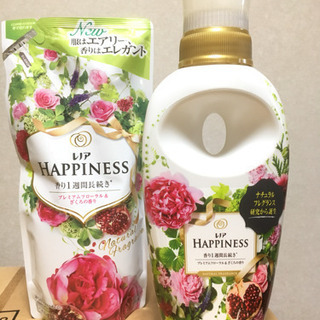 【柔軟剤】レノアハピネス プレミアムフローラル&ざくろの香り