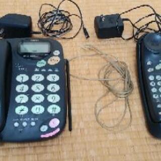 【値下げ】留守番電話機(コードレス子機付)