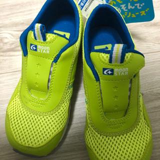 〈新品未使用〉ムーンスター 男の子 運動靴18センチ