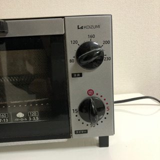 KOIZUMI トースター - 家電