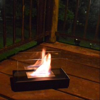 バイオエタノール暖炉(燃料付き)
