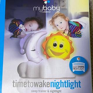 【新品未使用】my baby timetowake nightl...