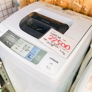 洗濯機 日立 HITACHI 2017年 5.0kg  美品 w...