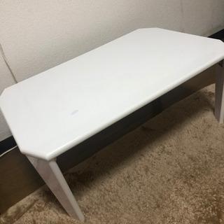 無料!!! ホワイト 白 テーブル 折り畳み机 机