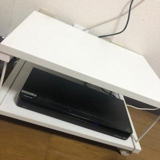 テレビ台 サイドテーブル コーナーテーブル 白い家具