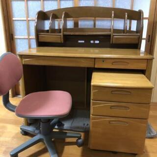 学習机と椅子セット