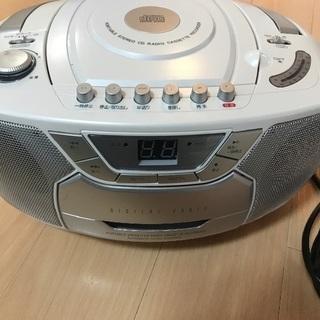 ※GW 7日までの期間限定  CD ラジカセットレコーダー