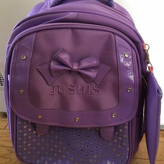 子供用 紫 リュック