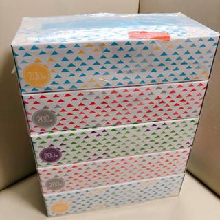 ティッシュ 5箱