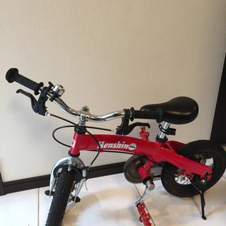 へんしんバイク 赤色 Henshin Bike Vitamin i Factoryの画像