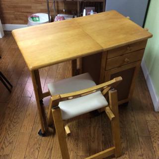 木製折り畳み学習机