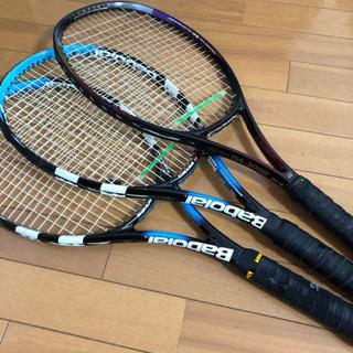 Babolat バボラ テニスラケット2本、他ヨネックスミッドプラス