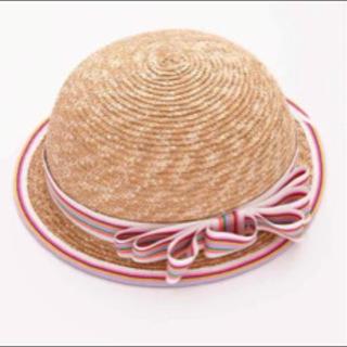 定価6600円☆fafa☆帽子☆サイズ48☆麦わら帽子☆