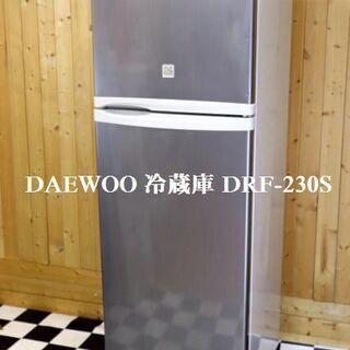 DAEWOO 大宇 2ドア 冷凍冷蔵庫 227L DRF-230...