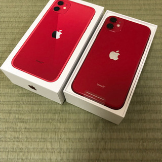 iPhone11 PRODUCT RED 64GB SIMフリー