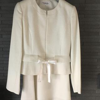 ★値下げ 白スーツ  レディース