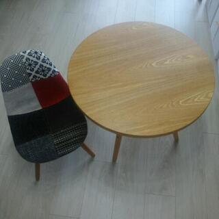 【値下げ】子ども用オシャレなテーブル椅子のセット