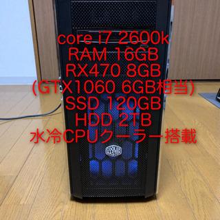Core i7、SSD120GB、HDD2TB GTX1060 ...
