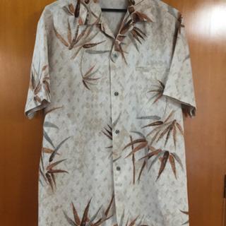 竹模様 シャツ