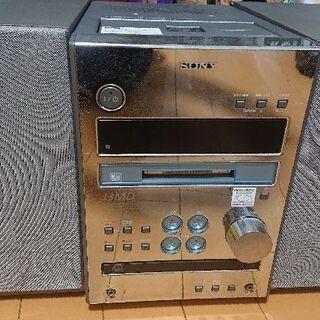 【ジャンク】CD,MD,カセット,ラジオコンポ