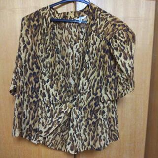スカートスーツ豹柄美品❗️